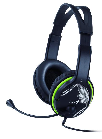 Genius HS-400A Headset Black 31710169100