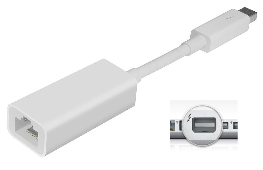 Apple Thunderbolt - Gigabit Ethernet Adapter md463zm/a