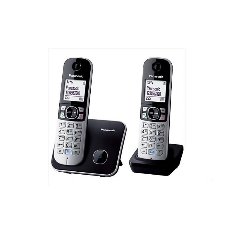 Panasonic KX-TG6812PDB DUO DECT Black
