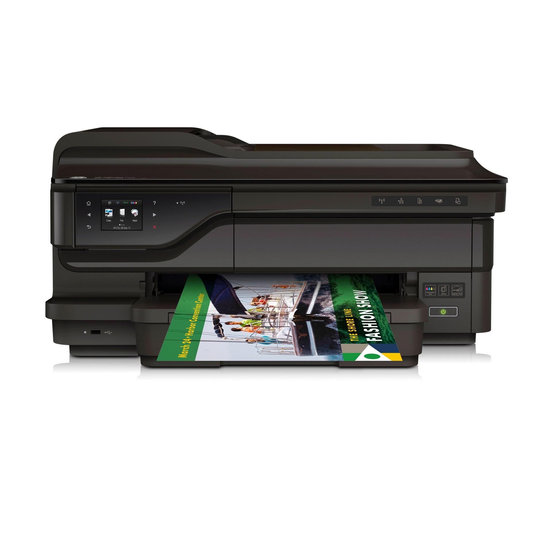 HP OfficeJet 7612 wide format e-AIO (G1X85A) wireless tintasugaras nyomtató/másoló/síkágyas scanner/fax