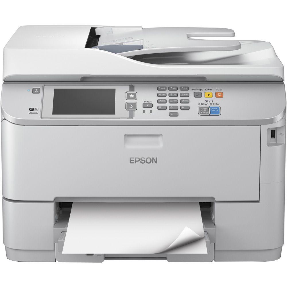 Epson Workforce Pro WF-5690DWF tintasugaras nyomtató/másoló/síkágyas scanner/fax C11CD14301