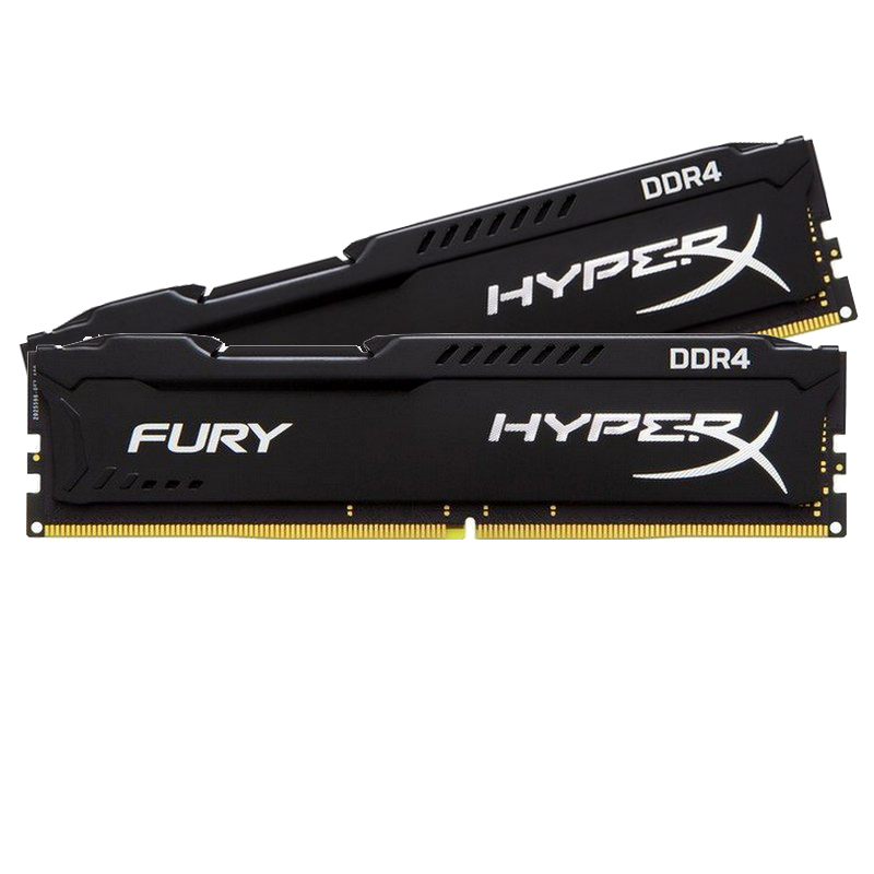 Kingston 8GB DDR4 2133MHz Kit(2x4GB) HyperX Fury Black Series HX421C14FBK2/8