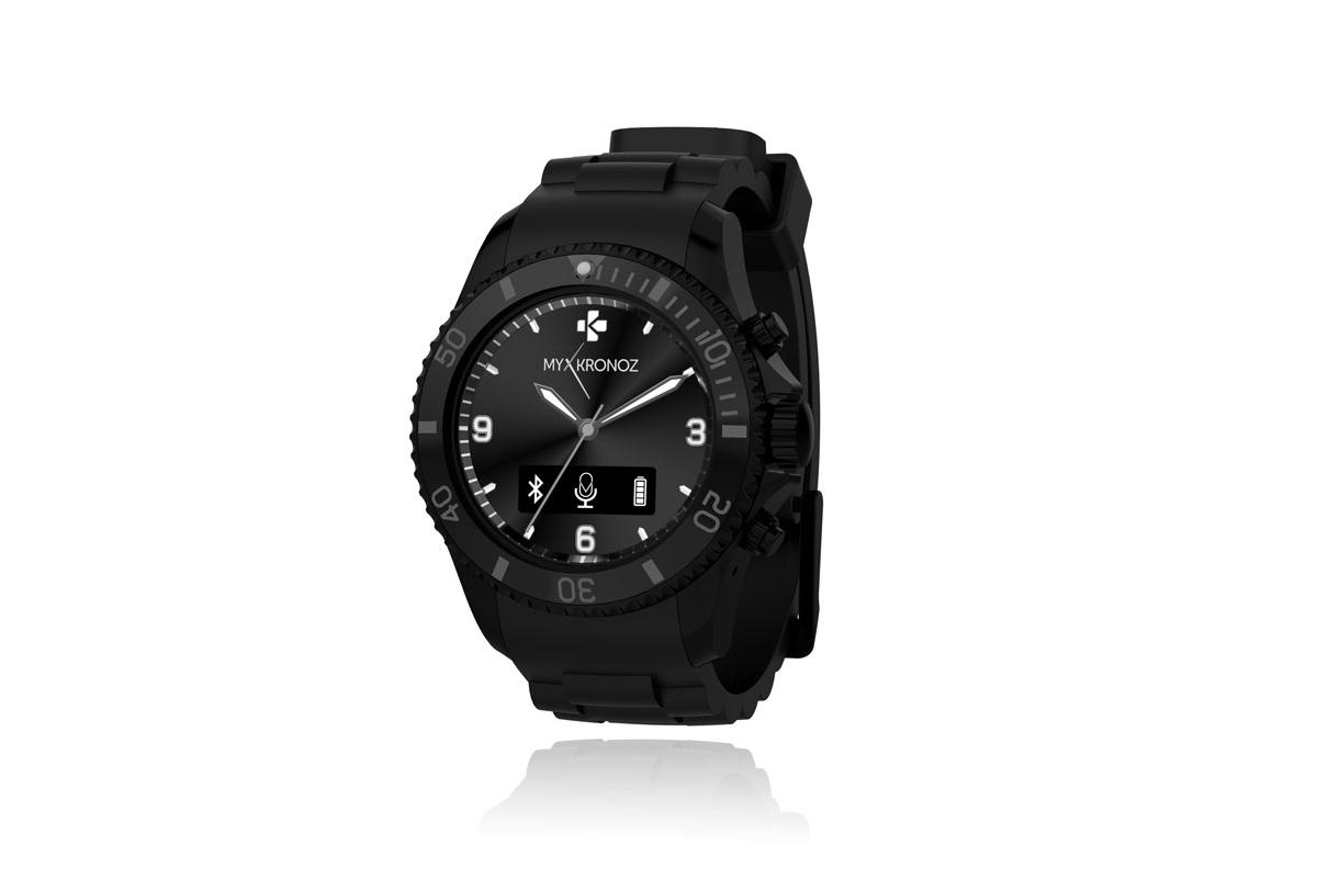 Mykronoz Smartwatch ZeClock Black okosóra MYZECLOCKK