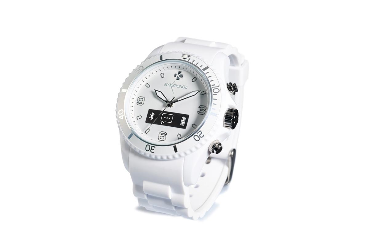 Mykronoz Smartwatch ZeClock White okosóra MYZECLOCKW