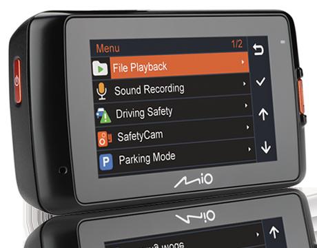 Mio MiVue 618 Car Video Recorder Black MIVUE_618