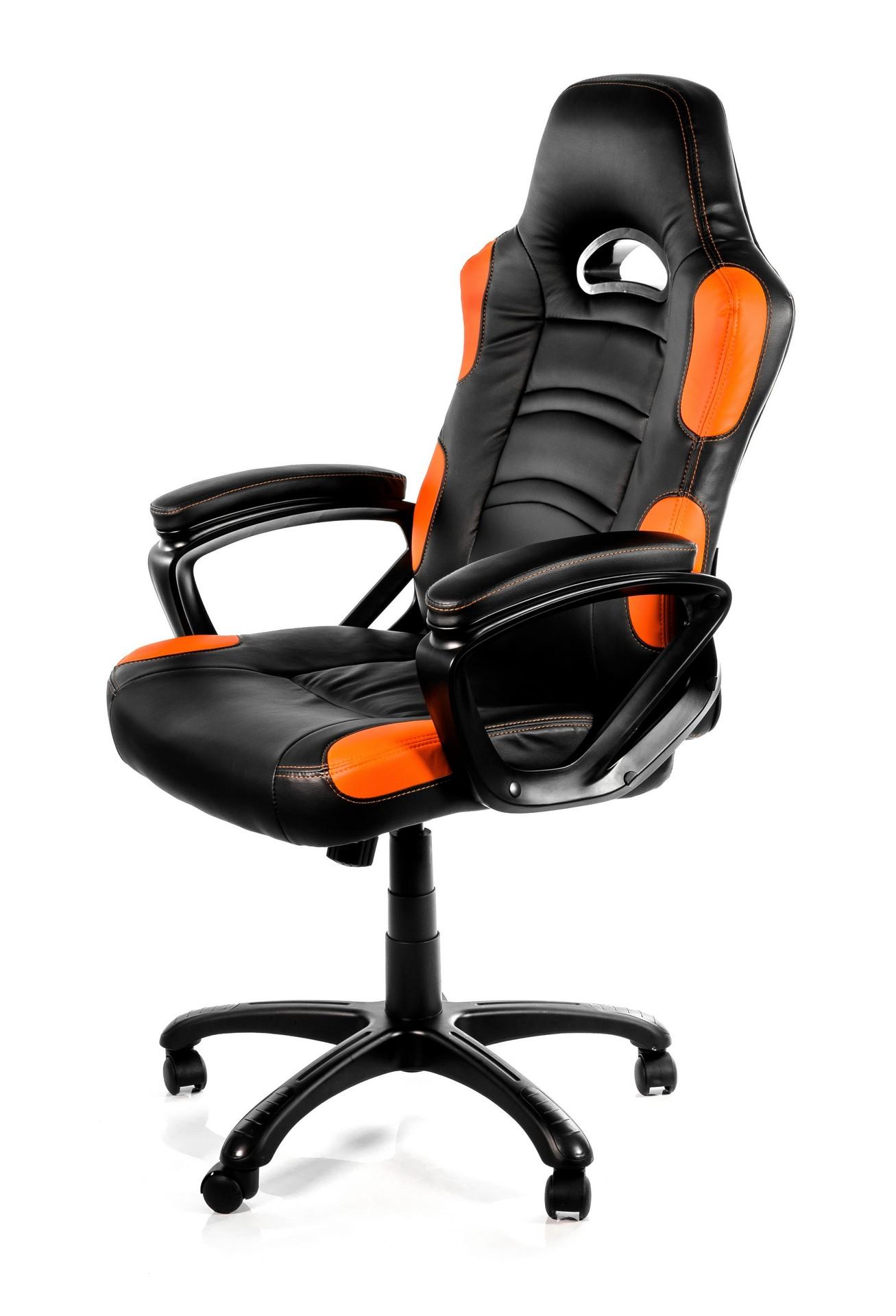 Arozzi Enzo Gaming Chair Black/Orange ARO-E-OR
