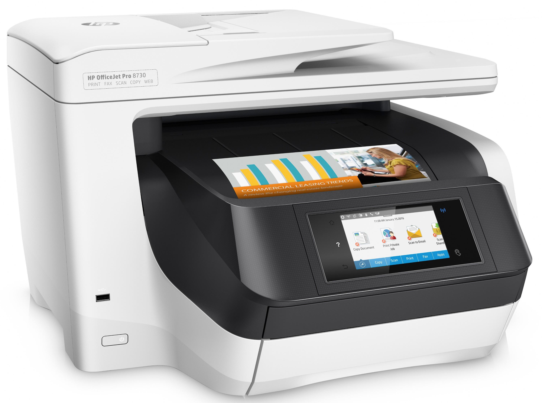 HP OfficeJet Pro 8730 (D9L20A) wireless tintasugaras nyomtató/másoló/síkágyas scanner/fax