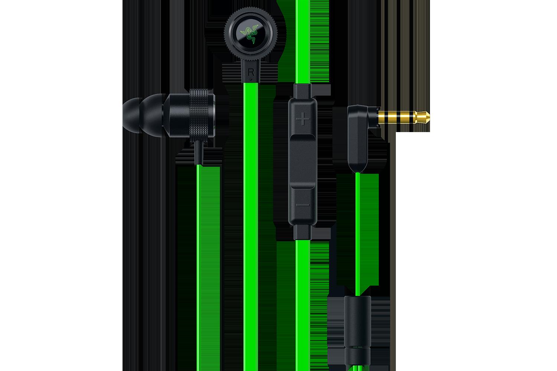 Razer Hammerhead Pro V2 Headset Black/Green RZ04-01730100-R3G1