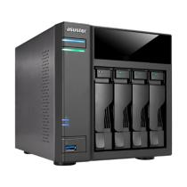Asustor AS6104T NAS Black