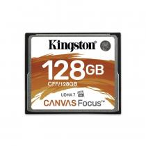 Kingston 128GB CompactFlash Canvas Focus