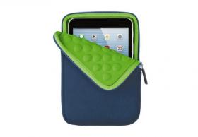 "Trust Anti-shock bubble sleeve for 7"" tablets - blue"