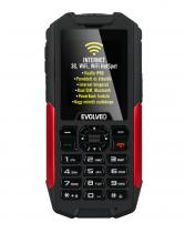 Evolveo StrongPhone X3 DualSIM Black/Red